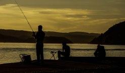 Trygve Nyland Jensen - Fiskere på stranden