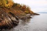 Lara Teso - Fjorden slapper av i høsten