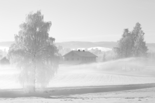 Vinter på Stange