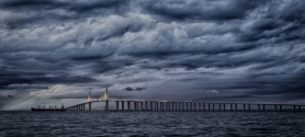 Tom Rolf Ingebretson - Sunshine Skyway Bridge 1