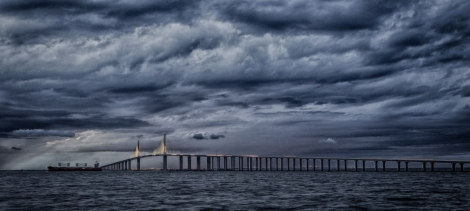 Tom Rolf Ingebretson - Sunshine Skyway Bridge 1