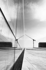 Speilende konstruksjon