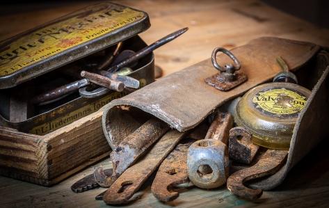 Oldefars sykkelverktøy